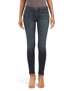 Krista Mid Rise Ankle Super Skinny Jeans