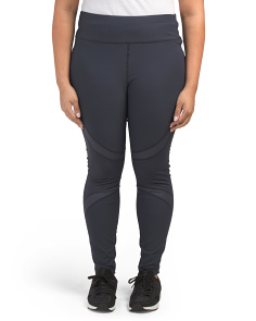 Plus Active Dewdrop Contrast Leggings