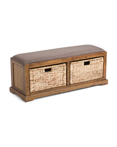 Sheridan Storage Bench