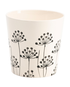Made In Portugal Dandelion Ceramic Planter