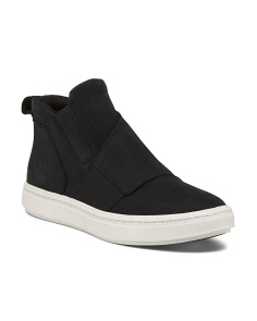 High Top Twin Gore Suede Sneakers