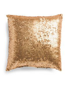Made In Usa 16x16 Hollywood Sequins Pillow