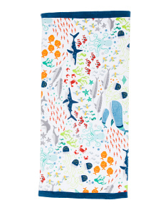 Fish School Beach Towel