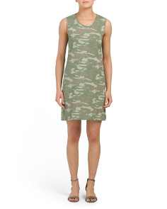 Made In Usa Camo Tank Dress