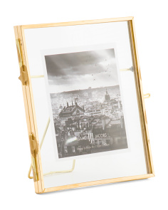 4x4 Brass Locket Photo Frame
