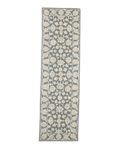 Made In India Wool Blend 2x8 Runner