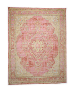 Made In Turkey 8x10 Medallion Scatter Rug