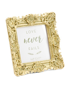 4x4 Ornate Decorative Photo Frame