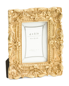 4x6 Baroque Decorative Photo Frame