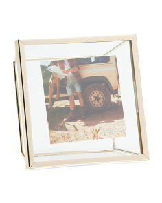 6x6 Floating Metal Photo Frame