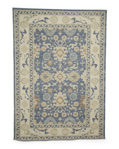 Wool Blend Hook Area Rug