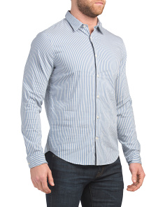 Bar Stripe Long Sleeve Shirt