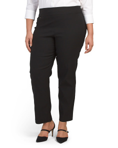 Plus Luxe Stretch Slim Pants