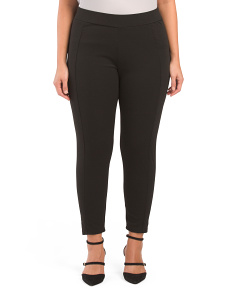 Plus Ponte Leggings