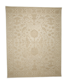 Made In India 7x9 Wool Transitional Rug