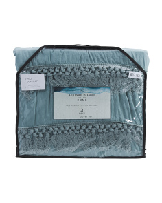 Willa Percale Duvet Set