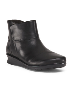 Wide All Day Comfort Leather Boots