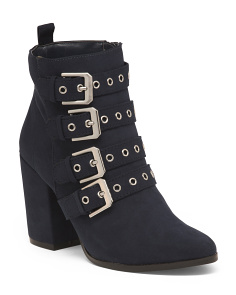Buckle Detail Booties