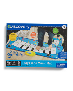 Toy Piano Music Mat