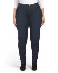 Plus Made In Usa Pencil Twiggy Jeans