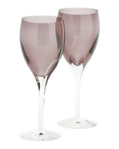 2pk W Collection Wine Glasses
