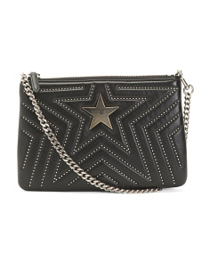 Made In Italy Boxed Studded Star Bag