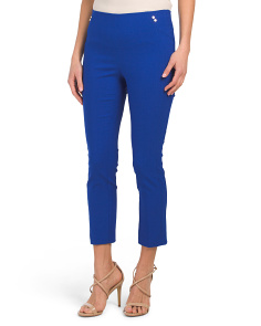 Petite Seamed Ankle Pants