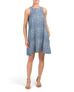 Tala Printed Trapeze Tencel Dress