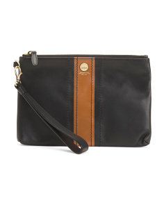 Koto Wristlet Leather Pouch