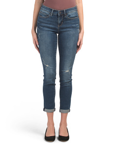 Tribeca Mid Rise Skinny Jeans