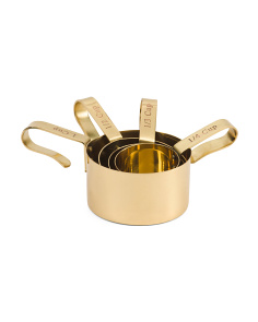 Made In India Brass Measuring Cups