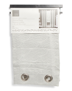 38x84 Set Of 2 Textured Sia Curtains