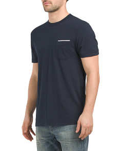 Tipped Pocket Tee