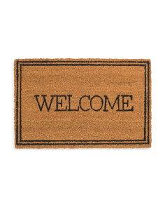 18x28 Natural Winston Welcome Coir Doormat