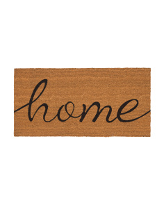Made In India 20x40 Harper Home Coir Door Mat