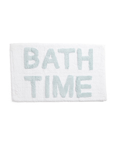 Made In India Bath Time Bath Rug