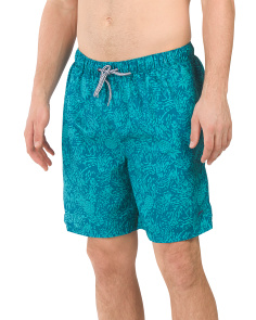 Pineapple Splash Volley Swim Shorts