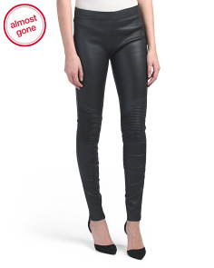 Zamora Leather Pants