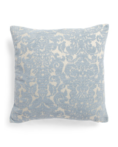 22x22 Ikat Wallpaper Pillow
