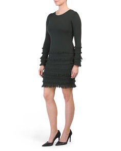 Merino Wool Sass Sweater Dress
