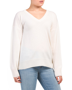 Cashmere Lucinda V Neck Sweater