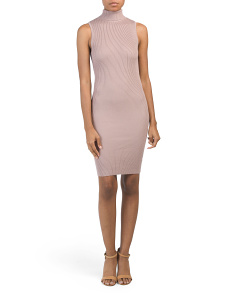 Juniors Ribbed Dress