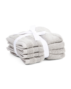 4pk Soho Low Twist Wash Towels