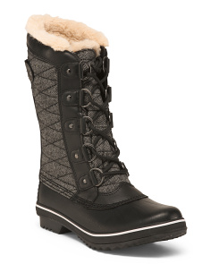 Faux Fur Lined Cold Weather Boots