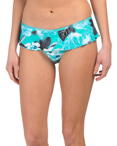 Skirted Hipster Tropical Bahama Bottom