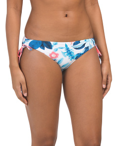 Tie Side Tropical Vacay Hipster Bottom