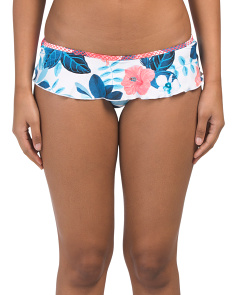 Tropical Vacay Skirted Hipster Bottom