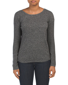 Cashmere Johanna Crew Neck Sweater