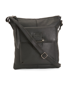 Jacqui Flap Leather Crossbody