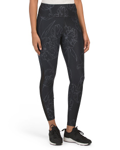 The Etched Floral Essential Legging